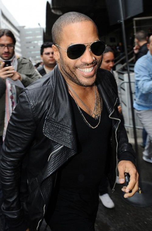 "Lenny Kravitz, Jennifer Lawrence - El cantante forma parte del reparto de ""The Hunger Games"""