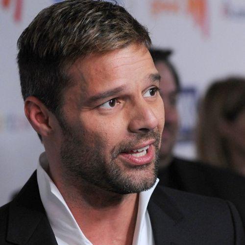 Ricky Martin - Ricky Martin presentó en sociedad a su pareja